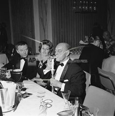 Buster and Eleanor Keaton at  the Berlin Film Ball in Germany Feb 17, 1962
