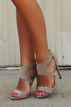 Good To Be Me Heels: Nude