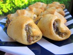 These Bacon Cheeseburger Crescents are a great tailgating snack. They have all the flavor of a bacon cheeseburger without the hassle of gr...
