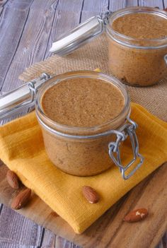 Homemade almond butter #healthy #nuts