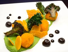 Restaurant HauteDish, Minneapolis | Broccoli and cheese