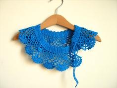 Collar Necklace Handmade crochet Peter Pan Collar by NMNHANDMADE, $29.00