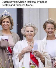Princess Tiara, Dutch Royalty, Royal Jewelry, Queen Maxima, Royal House, Royal Style, Crown Jewels, The Crown, Royal Fashion
