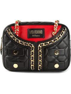 Moschino Quilted Jacket Effect Shoulder Bag - Julian Fashion - Farfetch.com