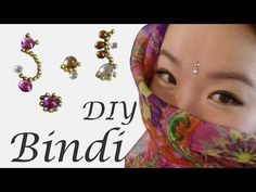 DIY Bindi Jewelry in 5 minutes! inspired by The Tribal Way - SPARKLY BELLY