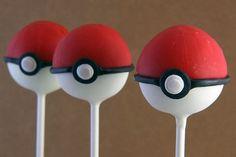 Life Is Amazing: Blake's party pokemon cake pops