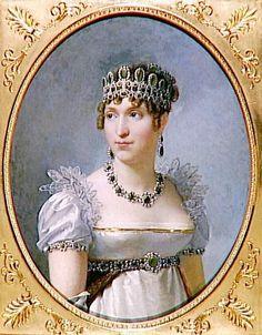 Hortense Bonaparte by Jean Baptiste Regnault