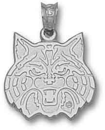 Arizona Wildcats Logo Charm Sterling Silver, Gold Plate, 10k or 14k #Wildcats #Arizona