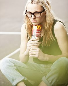 "this is forever my favorite ""guy"" picture of Andrej Pejic...unless someone ever outdoes it i guess... but so far it's le best"