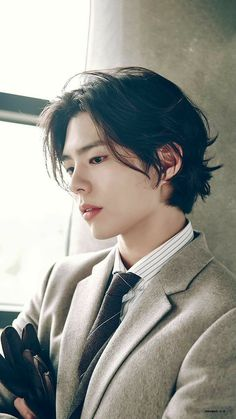 Drama Korea, Beautiful Boys, Pretty Boys, Park Go Bum, Photographie Portrait Inspiration, Asian Men Hairstyle, Asian Haircut, Hair Reference, Character Reference