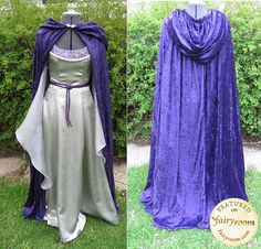 Another perfect costume. Costume Adult Ren Fair Elvish LOTR Faerie Cosplay by irishandmore Medieval Costume, Medieval Dress, Medieval Fantasy, Elven Costume, Cosplay Dress, Cosplay Costumes, Cape Dress, Dress Up, Narnia