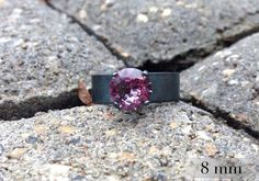 Cant choose a color? This Alexandrite ring lets you have many colors in one. #MoodRing #EngagementRing #JuneBirthstone