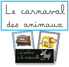 """LaCatalane in kindergarten .: """"The carnival of animals"""" (Saint-Saëns) - Les animaux dans l'art - Makaron Animal Facts For Kids, Fun Facts About Animals, Animals For Kids, Kindergarten Art, Preschool, Theme Carnaval, Primary Music, Music Activities, Crafts To Do"""