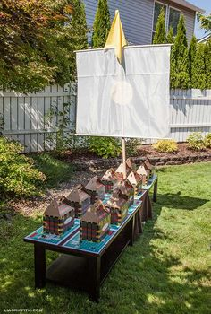 Pirate Party Birthday Party Ideas   Photo 7 of 12   Catch My Party
