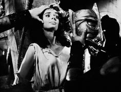 In the early 1960s Barbara Steele played a vampire in a number of Italian films with lesbian overtones including Black Sunday (Mario Bava, 1960).