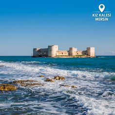 """What can you say about a castle in the middle of the sea? Turkey never misses a chance to amaze you. Visit """"Maiden's Castle"""" in Mersin, and get enchanted!"""