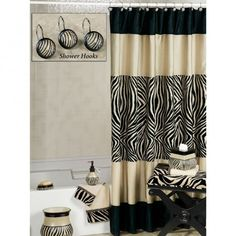 Animal Print Bathroom Zebraprintbedding Zebra Print Bedding for size 1020 X 1380 Animal Print Bedroom Curtains - In any room with the house, curtains Cheetah Print Bathroom, Animal Print Bedroom, Zebra Print Bedding, Zebra Bathroom, Animal Print Decor, Beige Bathroom, Bathroom Sets, Bathrooms, Safari Bathroom