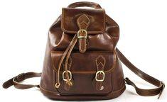 Allesia Italian Leather Medium Rucksack