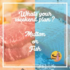 What's your weekend-calling? Tangy-spicy, #fishcurry or all time favourite #MuttonBiryani.  Dont keep your stomach growling. Order from https://www.kadalunavu.com/