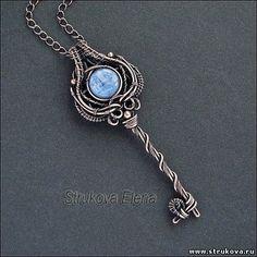 """Résultat de recherche d'images pour """"wire key pendant jewelry"""""""