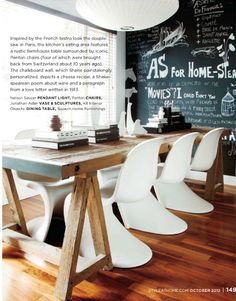 October issue of Style at Home. Photo by Barry Calhoun