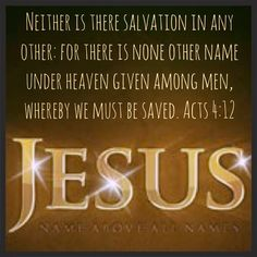 Acts 4:12 Jesus Name above all Names KJV memory verses King James Bible scripture verse Valerie McDaris