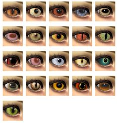 21 Animal eyes by Velouriah at Mod The Sims • Sims 4 Updates