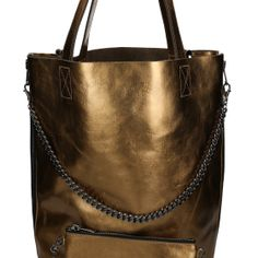 #gold #leather #bag