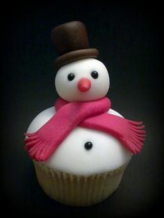 cupcakes for christmas - ADORABLE!!! christmas-christmas-christmas