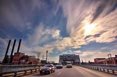 Walking On Sunshine..... - Point Street Bridge - Providence, RI  USA    #VisitRhodeIsland