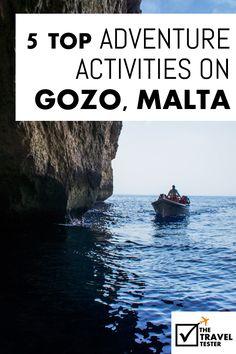 Gozo Malta: 5 Top Outdoor Adventure Activities (de leukste avontuurlijke activiteiten die je op Gozo, Malta kunt doen) Persoonlijk getest! | The Travel Tester