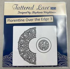 Tattered Lace Cutting Die Florentine Over the Edge Set 3 D227 #TatteredLace Selling On Ebay, My Ebay, Lace, Design, Racing