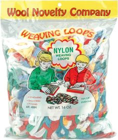 Nylon Weaving Loops 16 Ounces-Multi | SongbirdCrafts - Kids Crafts on ArtFire