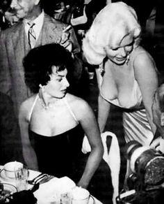 Ohhh Sophia Loren and Jayne Mansfield