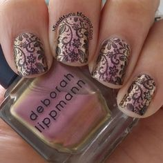 Lace Nails Ft. Born Pretty Store Stamping Plate BP-02