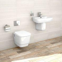 Princeton Wall Hung Bathroom Suite - Victoria Plumb