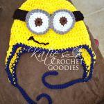 Free Minion Crochet Hat Pattern