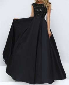 Elegant Prom Dress New Gorgeous prom dresses black Sweet 16 Gowns black evening dresses long Quinceanera Dresses