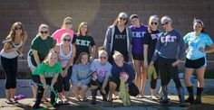 Simpson during their car wash to raise money for children literacy programming! #KKG #KKG1870