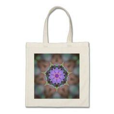 Spiderwort Flower Illusions Canvas Bag