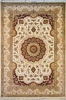 Qum Kaveh Signed Silk Persian Rug - Item# Size: 130 x 190 (cm) 3 x 2 (ft) Signed by master weaver Kaveh Persian Carpet, Persian Rug, Iranian Rugs, Turkish Art, Magic Carpet, Carpet Design, Rugs On Carpet, Stair Carpet, Texture