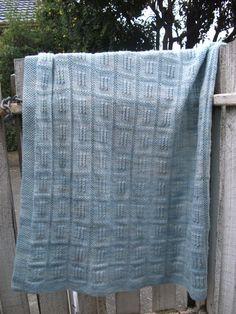PDF Building Blocks Blanket Knitting Pattern by NaturalStar