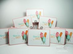 Are you ready to see a whole bunch of new stamp sets?? Here is my first card with what is probably my favorite from the Occasions catalo...