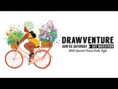 Drawventure Live No. 9 w/Vicki Sigh: Is Patreon Worth it? - YouTube