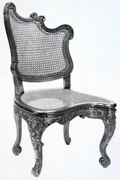 1000 images about traditional rokoko r gence on pinterest - Chaises noir et blanc ...
