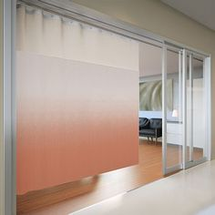 Architex Rx 1008 In Use Privacy Curtains Cubicle Ombre