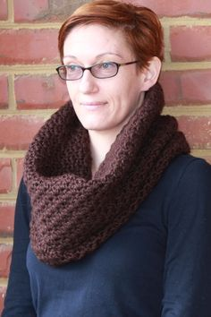 Chunky Cowl by Andras on Etsy