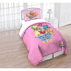 Shopkins Twin/full Quilt and Sham Set