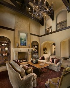 tuscan budget decorations | Innovative Slender Tuscan Living Room ...