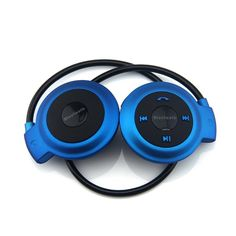 WONFAST® MINI-503 Wireless Bluetooth Music Stereo Universal Headset Headphone for iPhone iPad Samsung (Blue) >>> Click image for more details. (This is an affiliate link and I receive a commission for the sales)